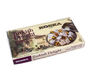 500g Mixed Nut Turkish Delight Lokum LARGE BOX Christmas Happy New Year Gift