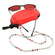 Colorful Beads Eyeglass Sunglasses Holder Chain Lanyard Strap Neck Cord Necklace