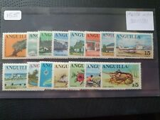 Anguilla 1967/8 complete set of 15v, hinged mint