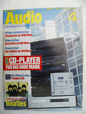 Audio 4/90 Air Tight ATD 1,atm 2, Audio Research LS 1, Classic 60. Madrigal PROCEED
