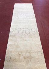 Handmad Oriental Modern Rug Carpet Runner Tebatan Runner 3x 11