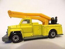 Matchbox Superfast 13 Snorkel Fire Engine-Amarillo. Raro Pre-producción.