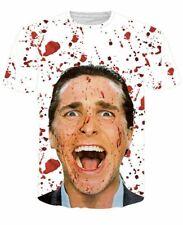American Psycho Christian Bale Horror T-Shirt (Medium)