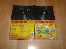 The smurfs! will stop! smurfs music CD with 2 drives used in good condition