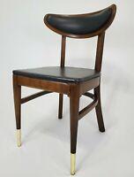 Mid-Century Modern Danish Accent Chair Walnut Bianco Mfg. Vintage