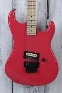 Kramer Original Collection Baretta Electric Guitar with Floyd Rose Ruby Red