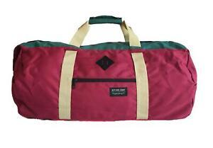 Rip Curl BLOCK DUFFLE BAG Gym Sport Cabin Overnight Travel Bag - BTRBE1 Burgundy