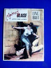 Mdesty Blaise Live Bait.  VFN. 1st edition (2002).