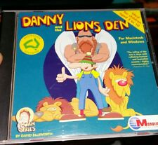 Danny and The Lions Den  PC GAME- FREE POST