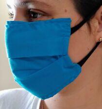 Mascarillas de doble tela lavable con bolsillo para filtro. Washable fabric face