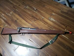 """Vintage Toy - Bolt Action Wooden Rifle - Gun - 28"""" For Play Or Display"""