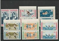 Dominican Republic 1958 Olympic Games Mint Never Hinged Stamps Ref 31329