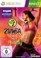 Microsoft XBOX 360 Spiel ***** Kinect Zumba Fitness Party ***************NEU*NEW