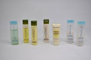 Lot of Crabtree & Evelyn Citron Body Lotion Shampoo Conditioner + LaSource