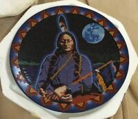 Great Chief, Sitting Bull Bradford Exchange Proud Heritage Collector Plate