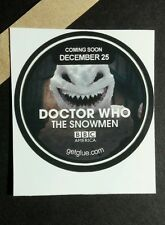DOCTOR WHO THE SNOWMEN VILLAIN FACE TEETH TV GET GLUE GETGLUE STICKER