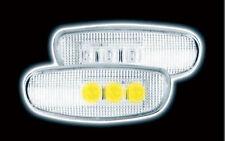 SUBARU IMPREZA 1993-2001 CLEAR LED SIDE REPEATERS
