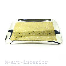 WMF Schale Tablett Cromargan Cocktail Tray Dish Textured Gold Decor vintage 60er