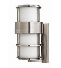 NEW Hinkley Lighting 1905OI Brushed Nickel Wall Outdoor coach light fixture