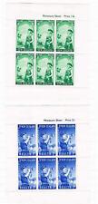 New Zealand - 1958 - Brigade Health Sheetlets - SC 54a-55a [SG MS765a] MINT 20