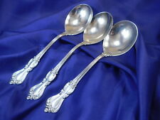 *1* REED & BARTON MARLBOROUGH STERLING SILVER GUMBO SOUP SPOON - EXCELLENT COND