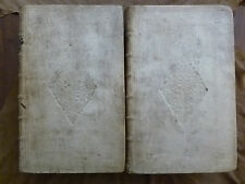 JOHAN VOET.COMMENTARIUS AD PANDECTAS.LA HAYE.1716. en 2 vol.in-folio plein vélin