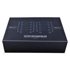 Sipolar Industrial Grade 2.1A 20 Port USB3.0 Hub USB Data Sync & Charge Station,