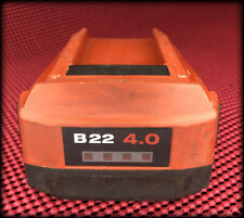 Hilti B 22 40 Lithium Ion Rechargeable Battery