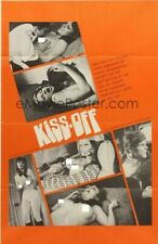 35MM THE KISS OFF 1968. Grindhouse B/W Rarity.