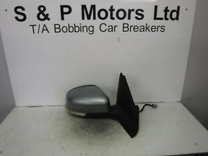 Ford Mondeo Mk4 10-14 OS Driver Side Electric Wing Mirror Grey 212836412