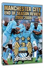 Manchester City End Of Season Review 2008/2009 DVD Sport UK Rele New Sealed R2