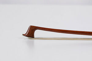 French Half-Size Violin Bow Stamped Peccatte