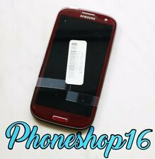 Original Samsung Galaxy S3 i9300 LCD Display Touchscreen Touch Glas Rot