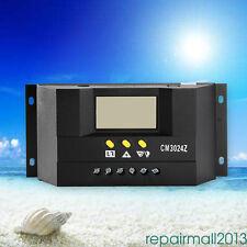 60A 12V 24V PWM Regulador de carga de panel solar Pantalla inteligente de LCD