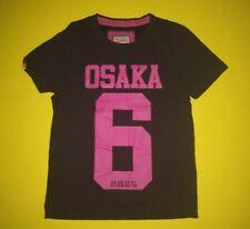 Superdry Osaka 6 Burnt Black / Punk Pink 2xl XL 100 Cotton Muscle T Shirt
