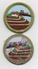 "Soil & Water Conservation Merit Badge, Type L, ""Since 1910"" Back (2013-Current)"