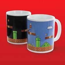 Official Super Mario Bros. Heat Change Mug - Night to Day Mario Level Tea Mug