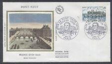 FRANCE FDC - 1997 1 LE PONT NEUF - 27 Mai 1978 - LUXE sur soie