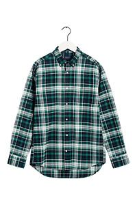 GANT Plaid Brushed Oxford Shirt