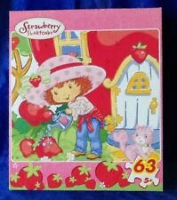 2005 Strawberry Shortcake 63 Piece Puzzle Growing Sweeter Sealed RoseArt Ages 5+