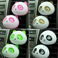 Cleaning Air Freshener Cute Panda Perfume Diffuser Car Vehicle Dashboard Decor
