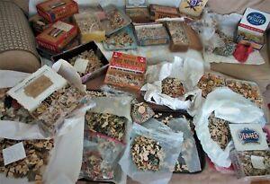antique,vntge,puzzle,HUGE LOT WOOD JIG SAW PUZZLES,NONE OLDER THAN 1930'S & 40'S