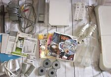 WII **FOR PARTS OR REPAIR** Lot Game Console Accessories **DOES NOT WORK!**