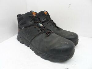 Timberland Men's Pro Ridgework Mid Comp Toe Safety Work Boot A1OP6 Black 14W