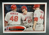 2012 Topps - MIKE TROUT #446 MINT - ANGELS Team Set  23 Cards