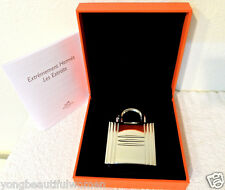 NEW AUTH HERMES KELLY CALECHE PARFUM JEWEL CASE AND PARFUM IN BOX COLLECTORS