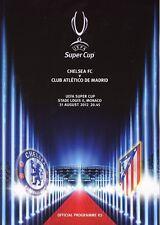 UEFA SUPER CUP 2012: Chelsea V Atletico Madrid