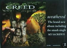 "Creed ""Weathered"" Australian Promo Poster -Alter Bridge"