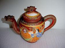 Vintage Oriental Dragon Tea Pot Japan