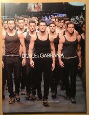 Dolce & Gabbana Catalogue Men's Fashion Show Winter 2011,David Gandy NEW